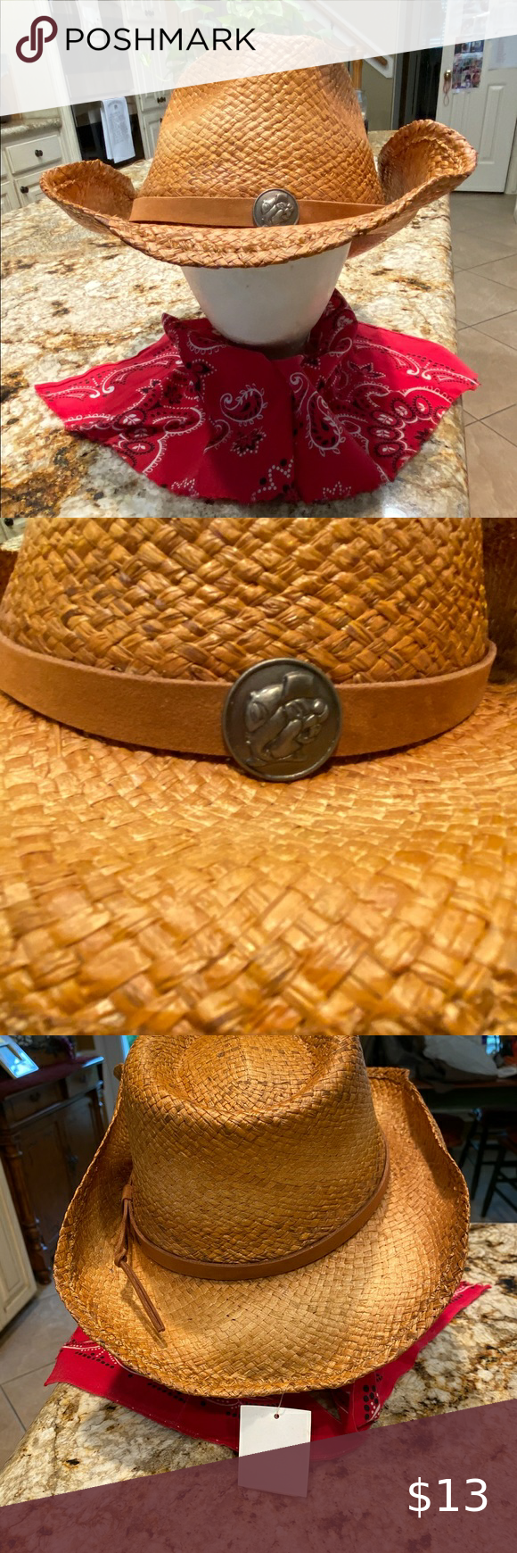 Buc Ee S Straw Hat Unisex L Xl New With Tags Straw Hat New With Tags Hats