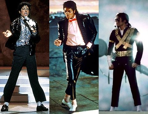 michael jackson iconic looks