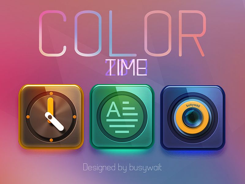 """Color"" di busywait"