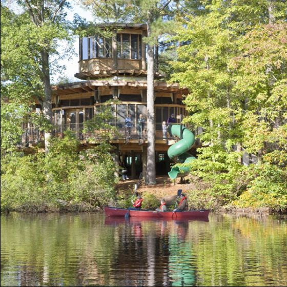 I want a house with a slide!!!