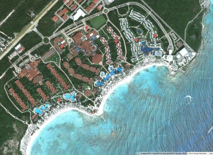 Satellite view of the Barcelo Maya Resort - Riviera Maya ... on snorkel sites map of cozumel, tourist map of cozumel, road map of cozumel, driving map of cozumel, snorkeling in cozumel, city of cozumel, aerial view of cozumel, world map cozumel, printable map of cozumel, longitude of cozumel, culture of cozumel, attractions of cozumel, map of cancun and cozumel, prettiest beach in cozumel, best dive sites cozumel, satellite view of local weather, mayan ruins excursions in cozumel, mapa de cozumel, google map cozumel, satellite view of cozumel,