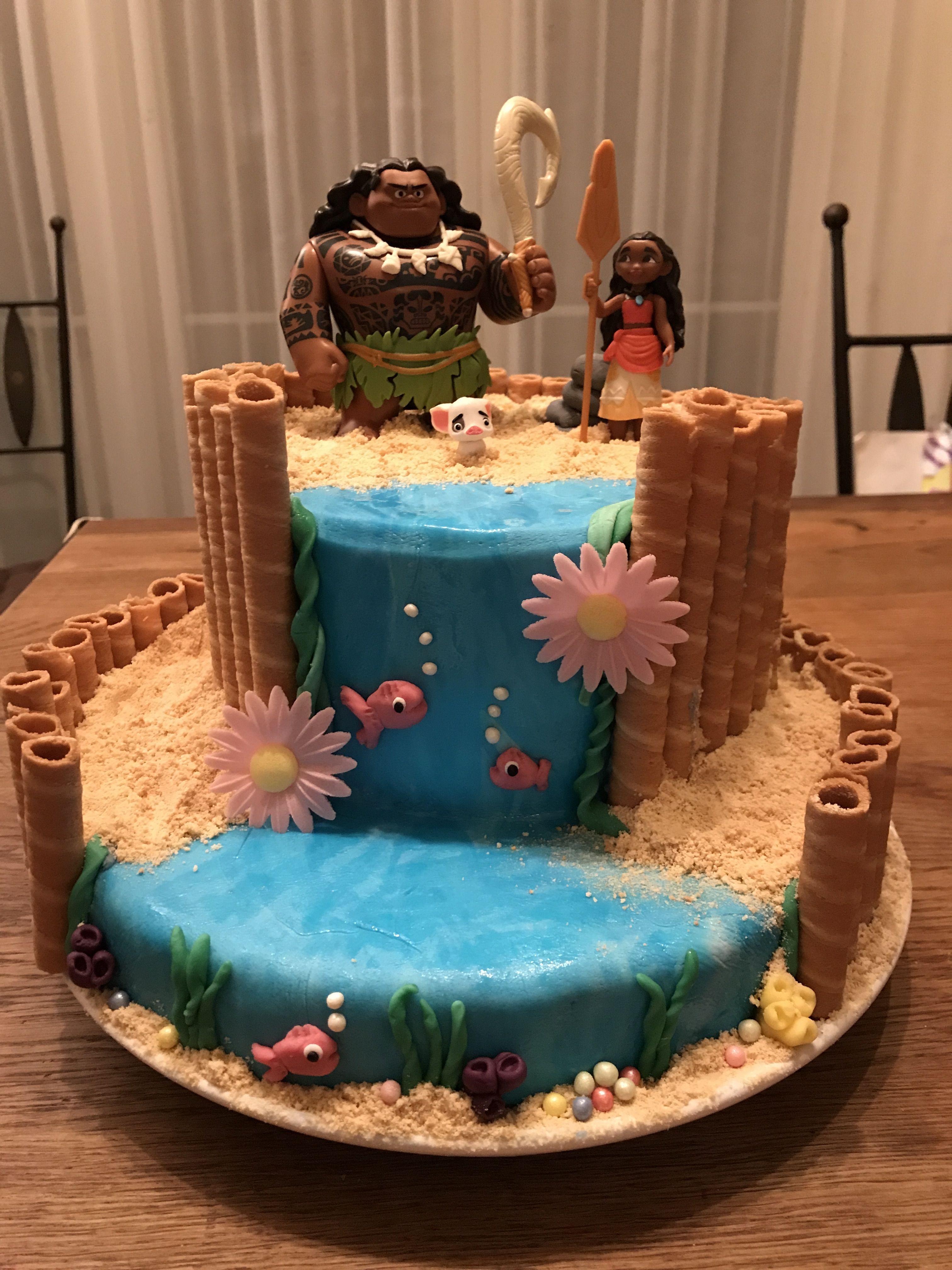 vaiana cake h ftgold pinterest geburtstagstorte kinder geburtstagsfeier ideen und keks kuchen. Black Bedroom Furniture Sets. Home Design Ideas