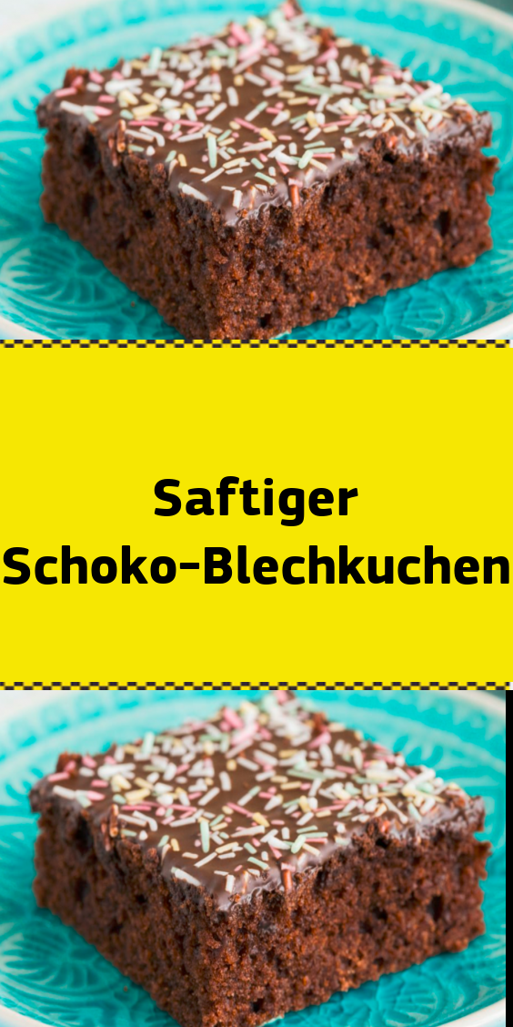 Saftiger Schoko-Blechkuchen #bananabreadbrownies