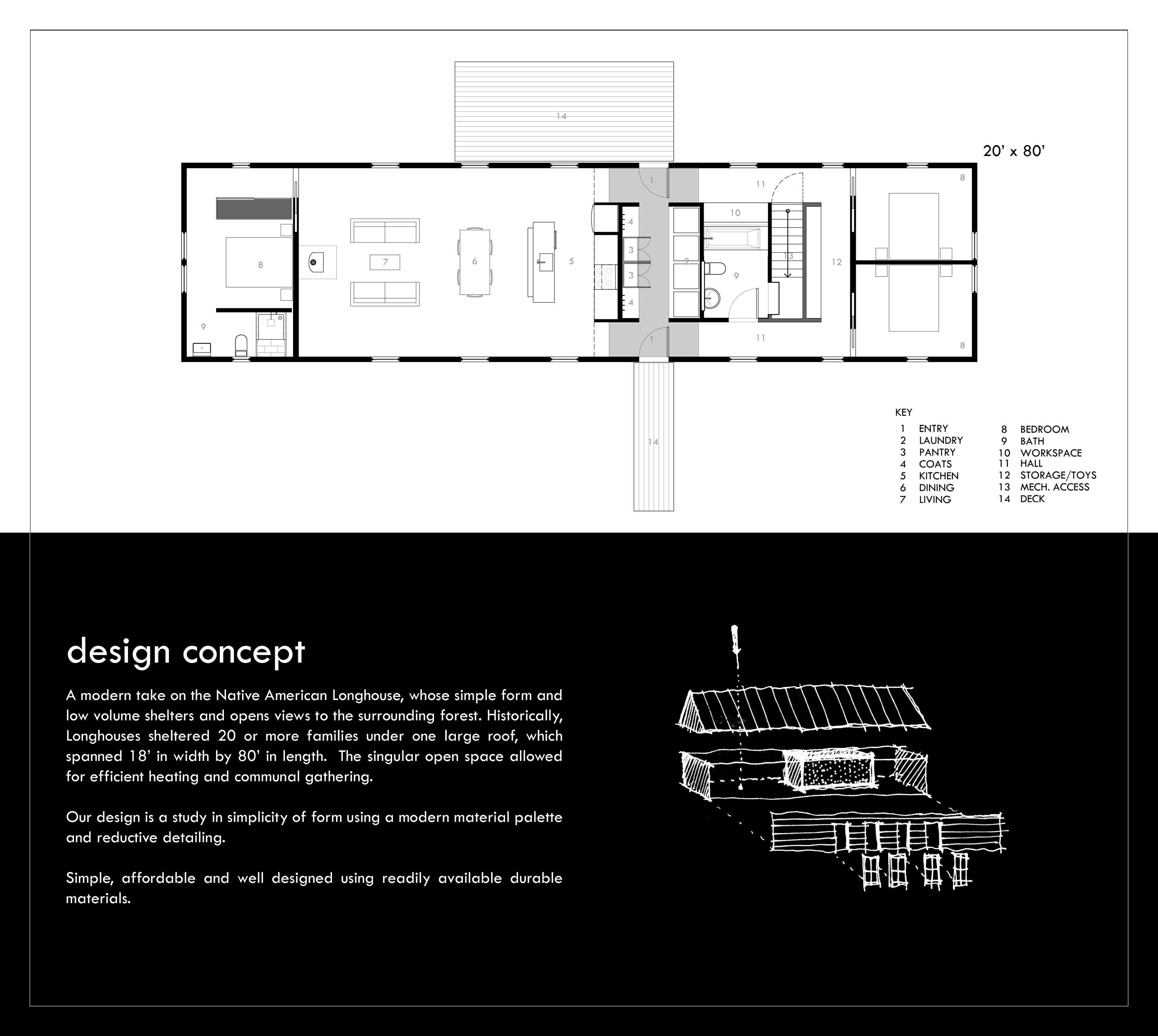 Portfolio 30x40 Design Workshop Modern Floor Plans Cottage Floor Plans Architectural Floor Plans