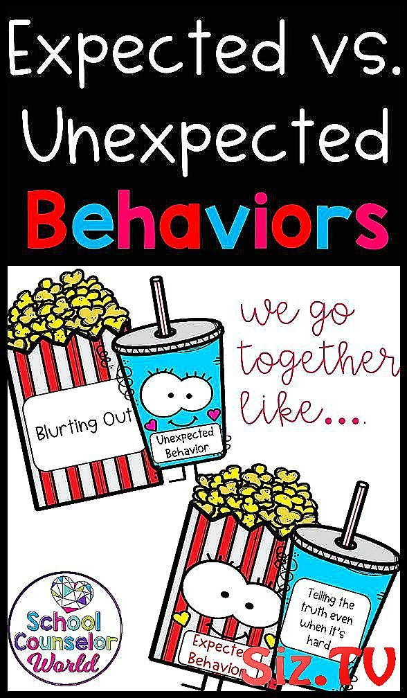 Activity on teaching Expected vs Unexpected behaviors  Match up the behavior wit   Activity on teaching Expected vs Unexpected behaviors  Match up the behavior with the scenario   Life Skills   School Counseling   Character Education   Kindergarten   1st Grade   2nd Grade   3rd Grade   Task Cards   Games  Lesson Plans   Worksheets   Elementary   Guidance   Kids   Students   School Counselor   SCW   School Counsel