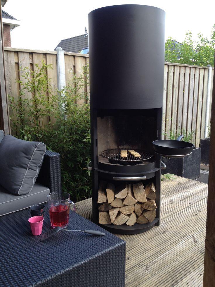 barbecue l gant foyer ext rieur cette chemin e vous voulez toujours avoir debout dans votre. Black Bedroom Furniture Sets. Home Design Ideas