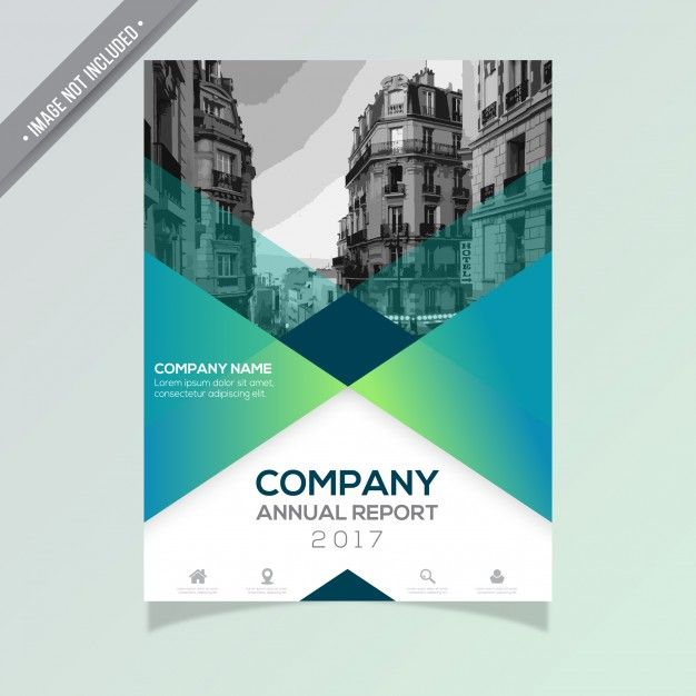 Annual report template Free Vector Gratuitement sur Freepik - software brochure