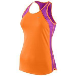 983422b045 Nike Fast Pace Tank - Women s - Running - Clothing - Vivid  Orange Magenta White