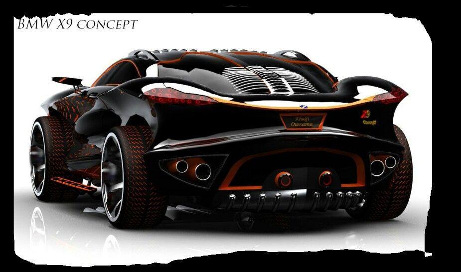 BMW X9 CONCEPT Cars Pinterest