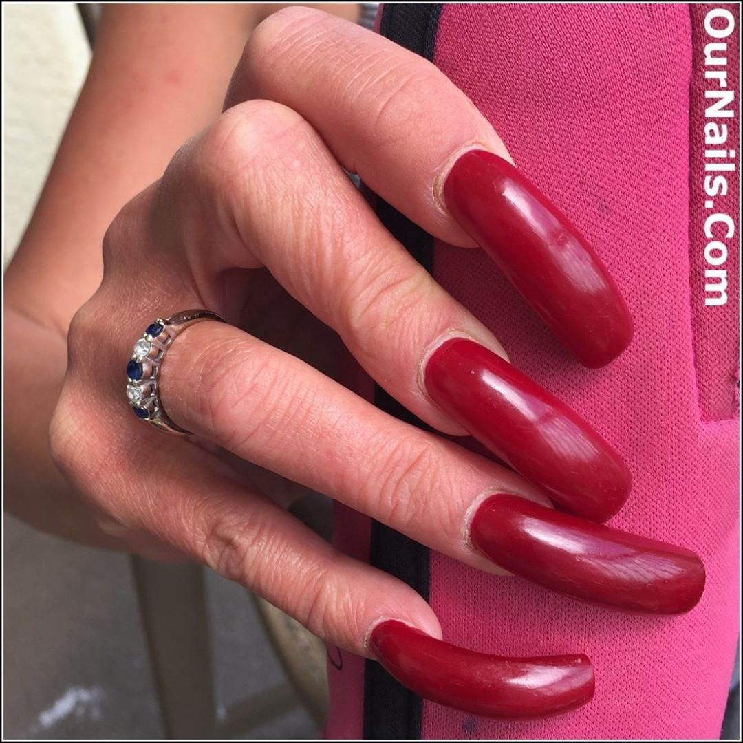 Pin by Jimmy on Extra Long Nails | Pinterest | Nail nail, Curved ...