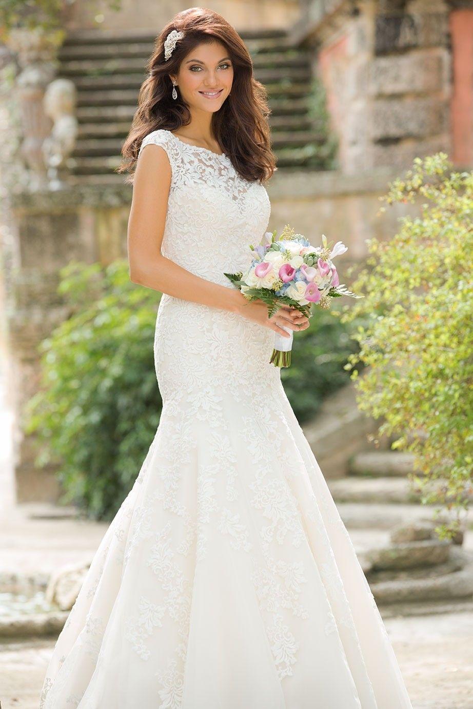 Allure Romance Wedding Dresses - Style 2760 - http://blog.oncewedding.com/2015/11/02/allure-romance-wedding-dresses-style-2760/