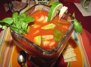 Cocktaile de Camarones