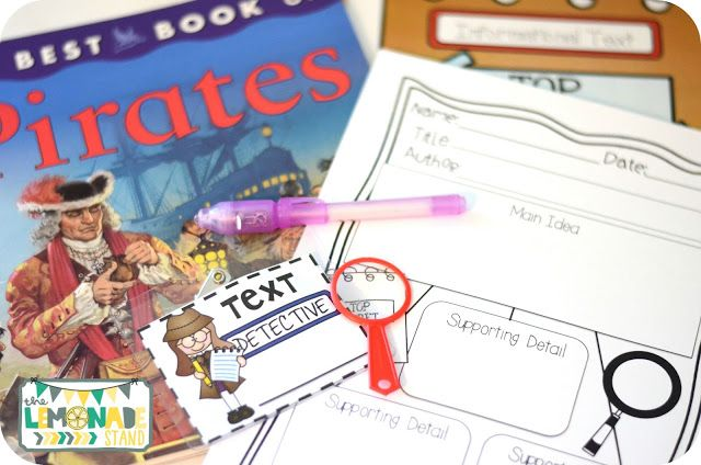 Text Detectives Book Club For Second Grade An Activity For Each Of