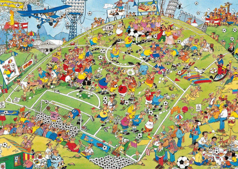 Jan Van Haasteren Google Search Puzzel Afbeeldingen Voetbal