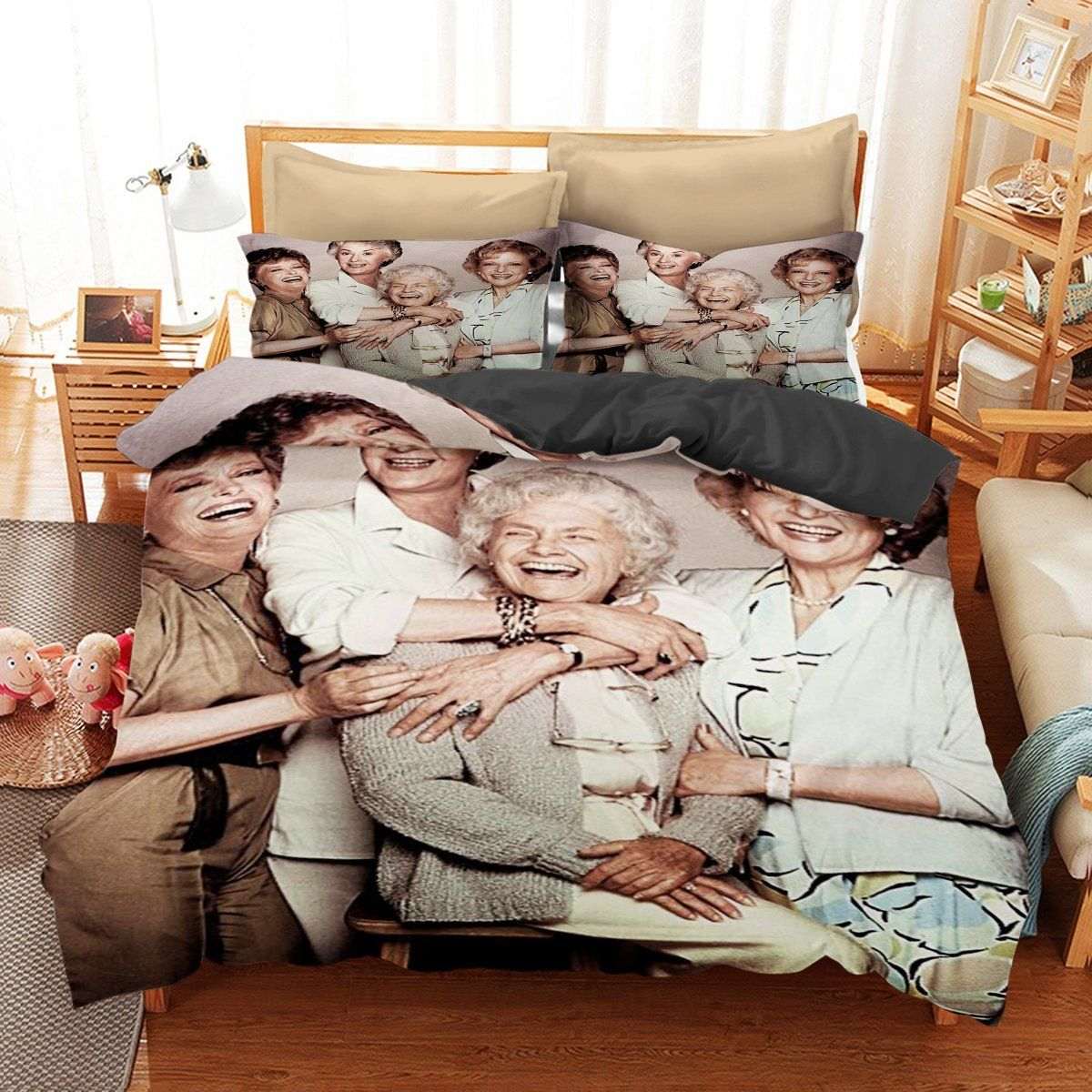 Funny The Golden Girls Bedding Set Fan Gift Idea | Girls bedding
