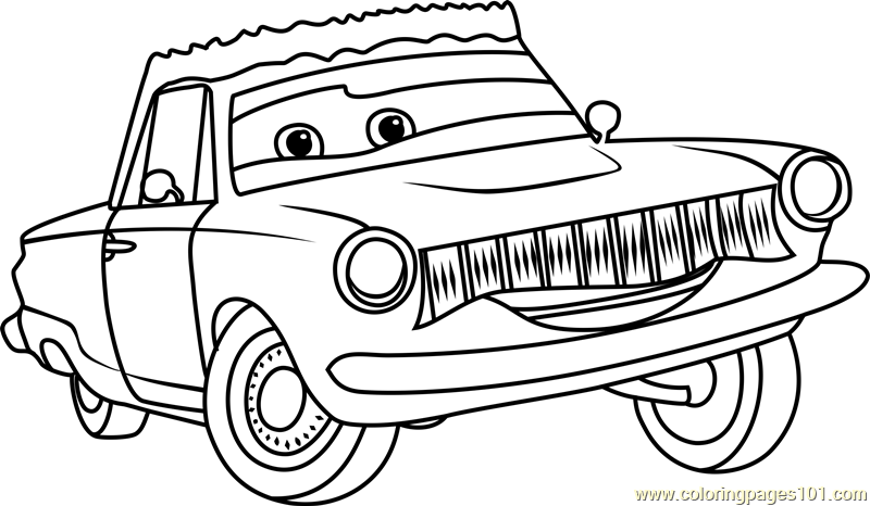 Rusty Rust Eze From Cars 3 Coloring Page   Free Cars 3 Coloring .