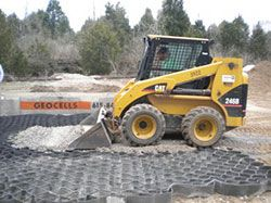 Photo of Typar Geocell GS – Slope Stabilization – Load Support – GS-250/150