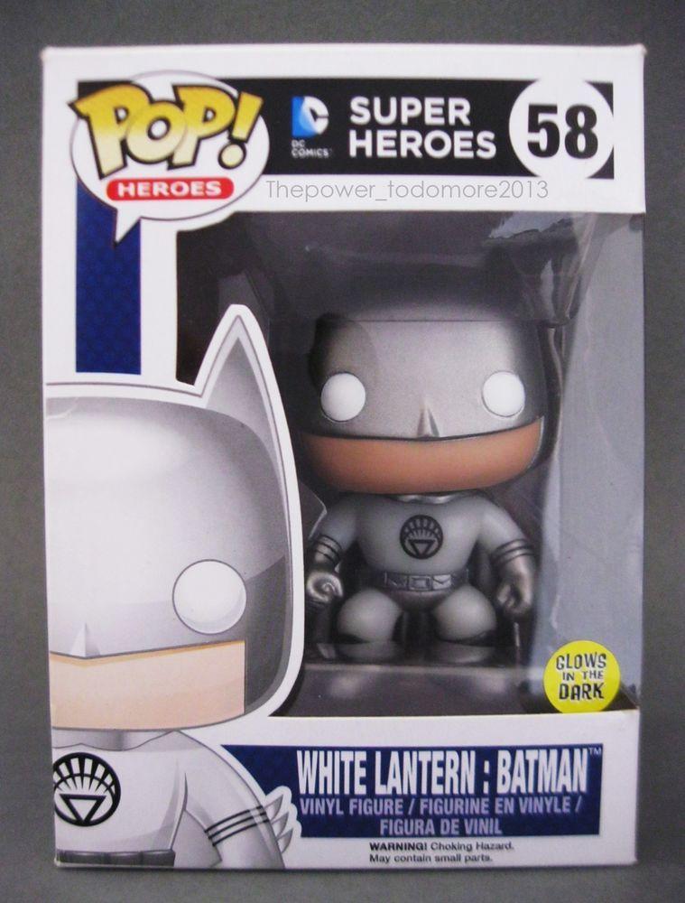 WHITE LANTERN WONDER WOMAN GITD Fugitive Toys Exclusive DC Heroes Funko Pop New