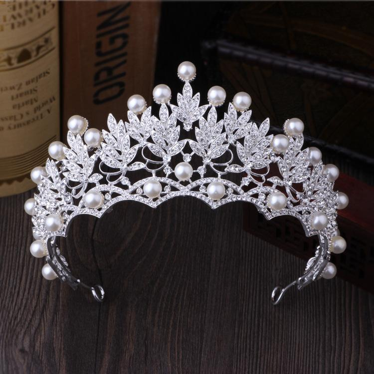 Gorgeous Vintage Crystal Pearl Bridal Crowns Tiaras Wedding #crowntiara