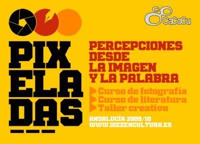 """Catálogo de las obras premiadas en el concurso """"Pixeladas""""."""