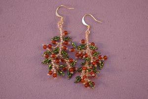 Beaded Earrings - 5 Design Ideas for Making Beaded Earrings: Beaded Fringe