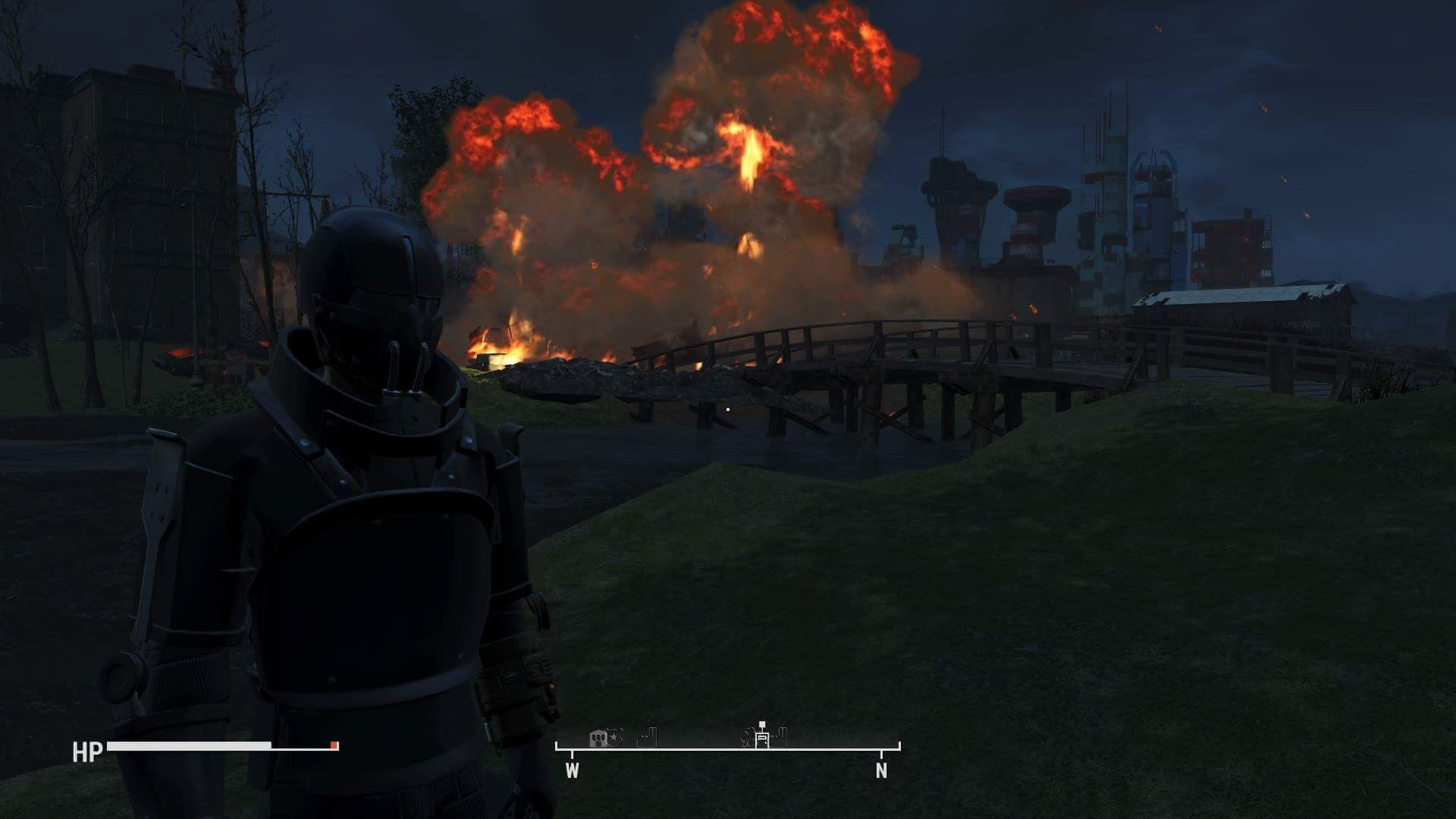 Cool guys never look at explosions. #Fallout4 #gaming #Fallout #Bethesda #games #PS4share #PS4 #FO4