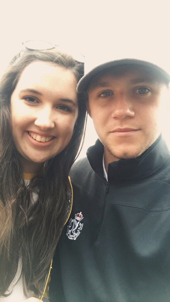 Niall with @Niamh_Lafferty at the Northern Ireland Open