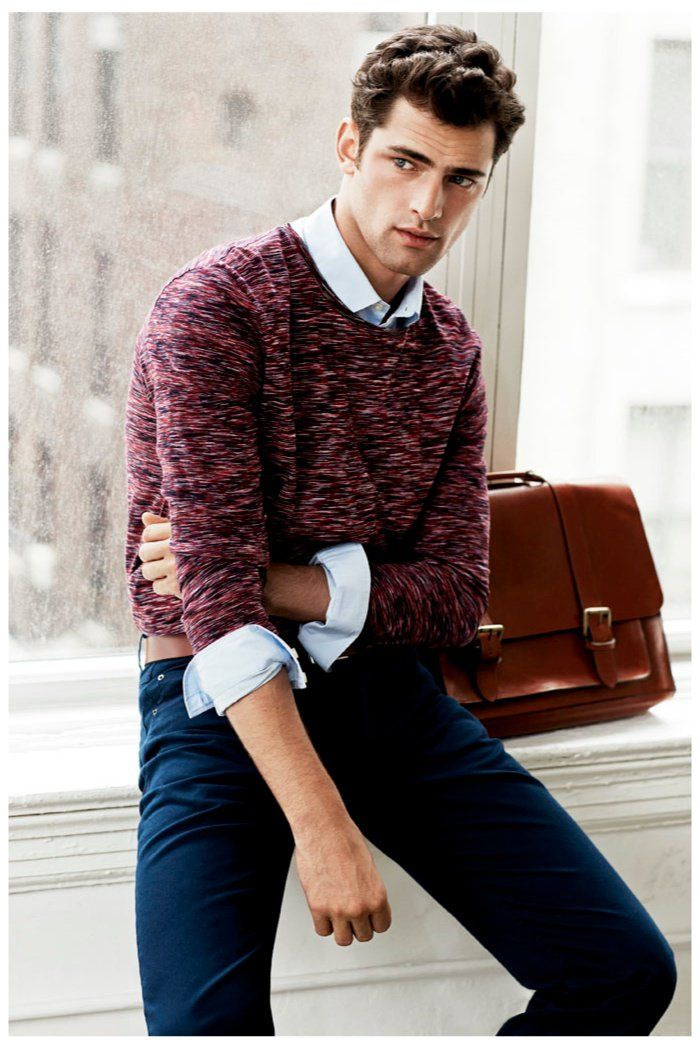 David Roemer Shoots Sean OPry for H&M image sean opry 0001