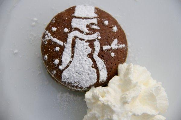 Schoko Lebkuchen Küchlein – Resteverwertung