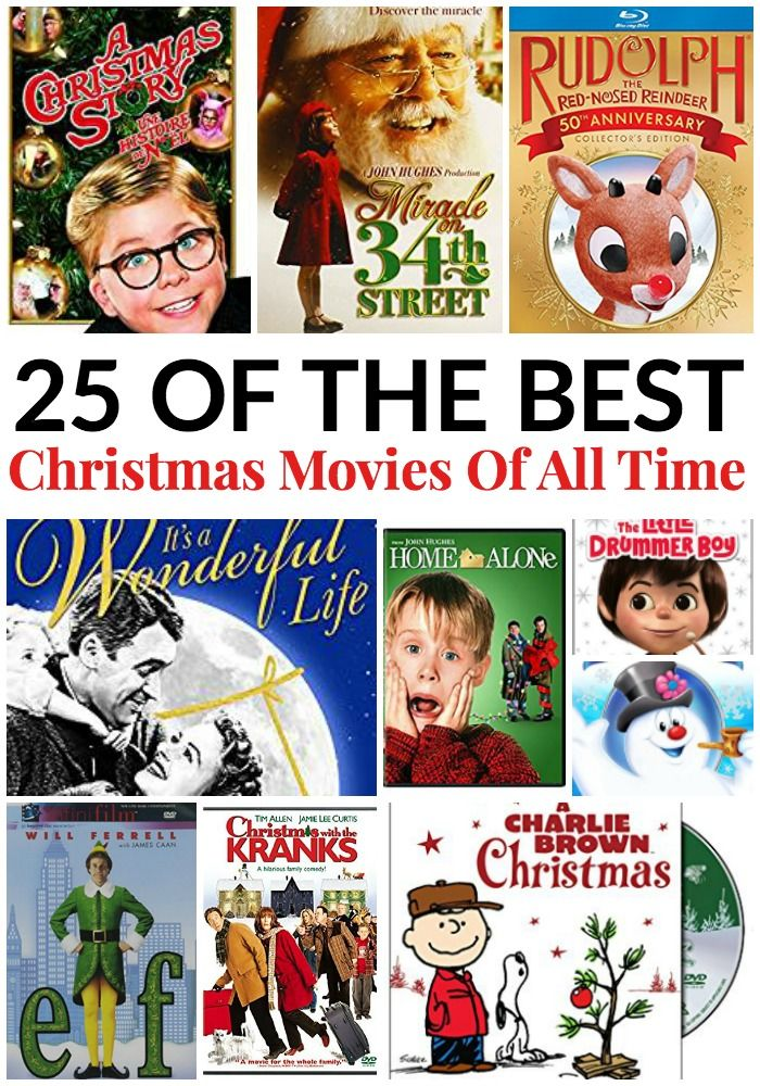 25 Of The Best Christmas Movies Of All Time Best Christmas Movies Christmas Movies Christmas Fun
