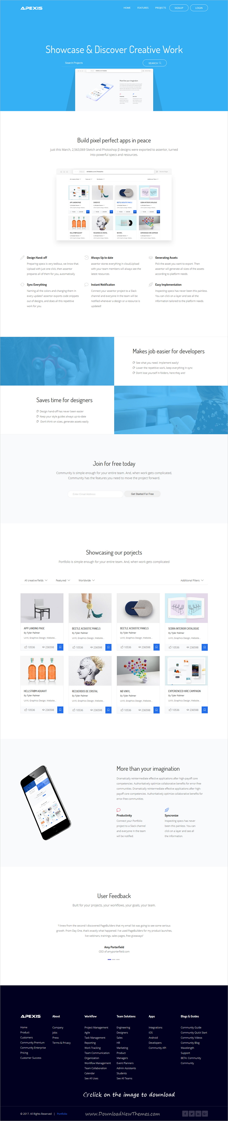 Apexis - Responsive Bootstrap 4 Software & WebApp HTML5 Template ...