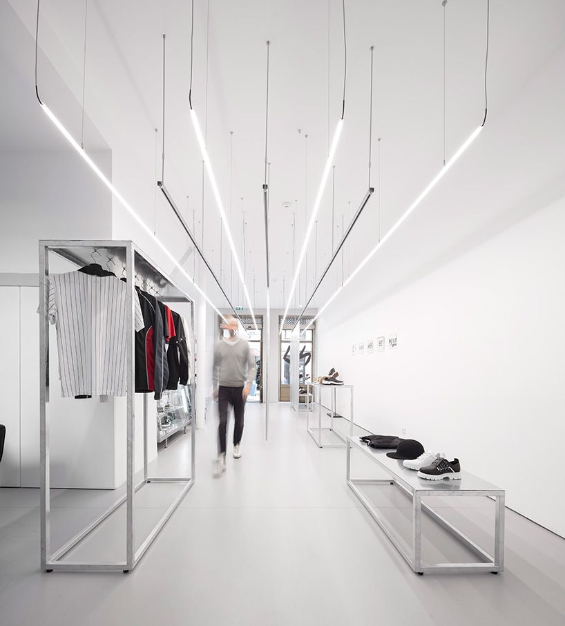 A Minimalist Streetwear Outlet That Plays Tricks With Perspective
