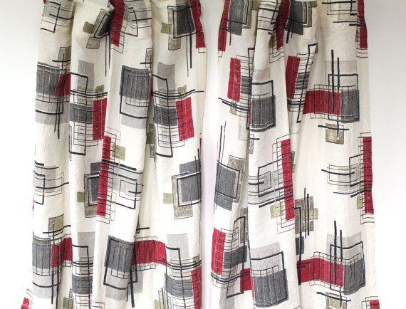 87 retro kitchen curtains 1950s pertaining to retro kitchen image