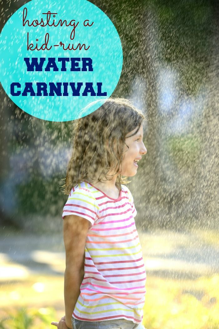 How to host a kid-run water carnival: 5 easy (and cheap or free!) ideas that KIDS can do, plus how you'll incorporate summer learning into planning a water carnival - Julieverse