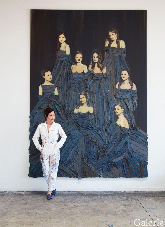 Claire Tabouret S Art Triumphs With Subtle Feminism Galerie Art Female Artists Painter