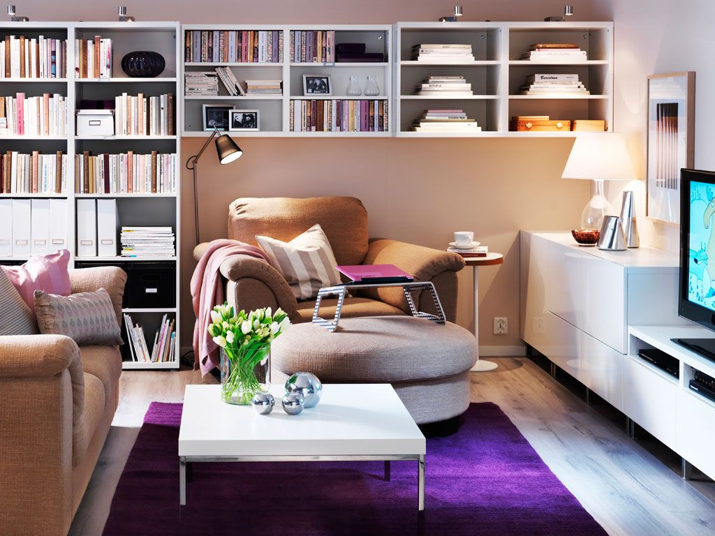 Wohnzimmer Einrichten Aber Wie Organised Family Room With The Right Mix Of Storage