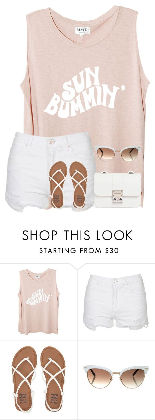 """Sans titre #55"" by josefina-deveci ❤ liked on Polyvore featuring beauty, Topshop, Billabong, Gucci and Design Inverso"