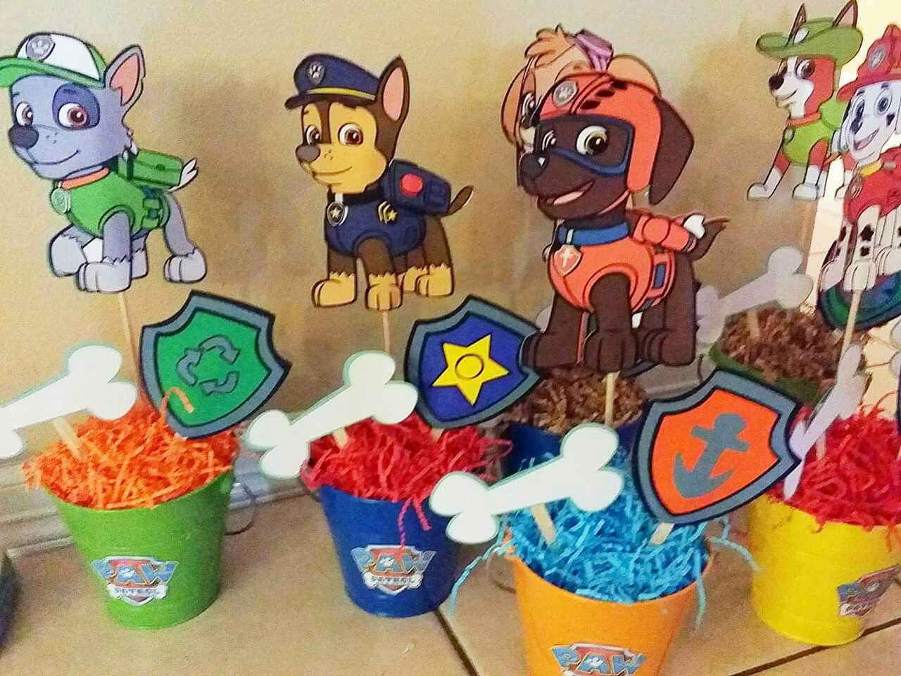 Awesome Paw Patrol Centerpieces Paw Patrol Birthday Party In 2019 Download Free Architecture Designs Scobabritishbridgeorg