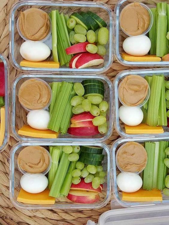 9 Meal Prep Ideas for the Week That Are Super Popular on Pinterest #mealprepplans