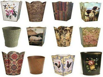 Bathroom Wastebaskets 12 - Decorative Bathroom Trash Cans | Home ...