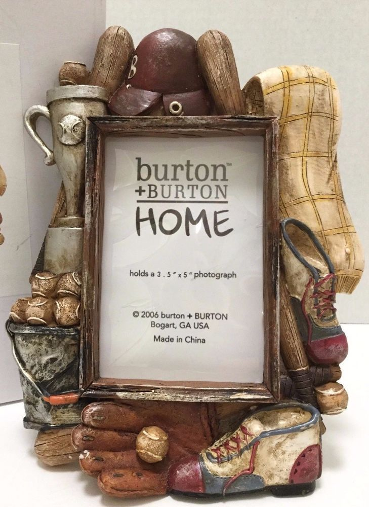 Baseball Picture Frame from Burton and Burton Home Frame 5.5x8 ...