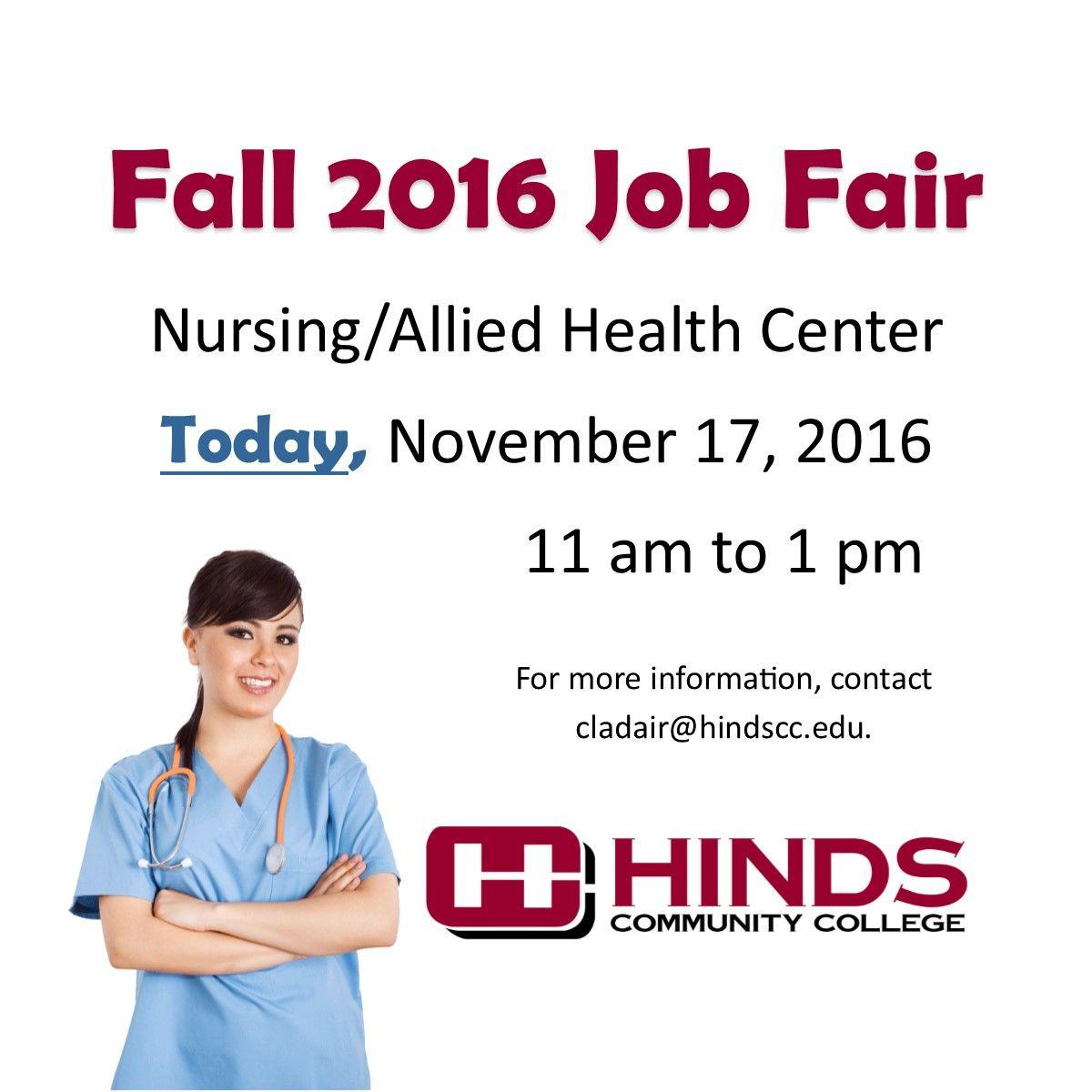 Fall Job Fair 2016 Job fair, Health center, Community