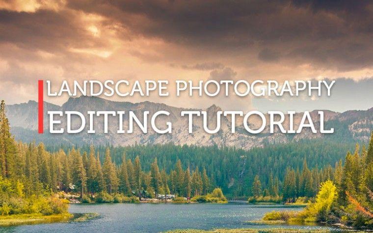 Landscape editing Photoshop tutorial. Creative Photoshop tutorials
