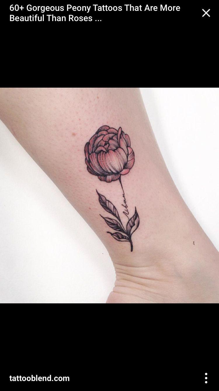 c777ca1c18416 Closed peony tattoo | Tattoos | Peonies tattoo, Beautiful flower ...