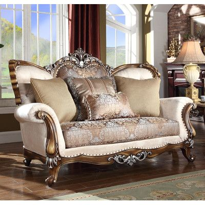 Delightful Meridian Furniture USA Sandro Loveseat