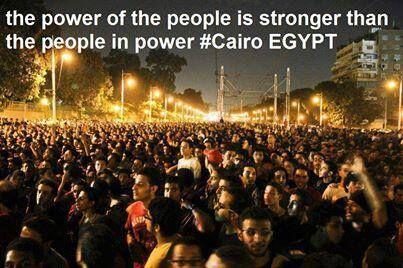The Largest Demonstration In Egypt S History Cairo Egypt History Egypt Cairo