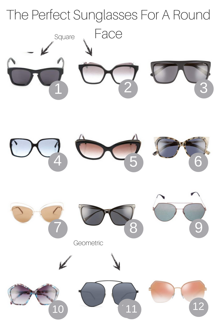 92ac470004 The Perfect Sunglasses For A Round Face featured by popular Los Angeles  fashion blogger