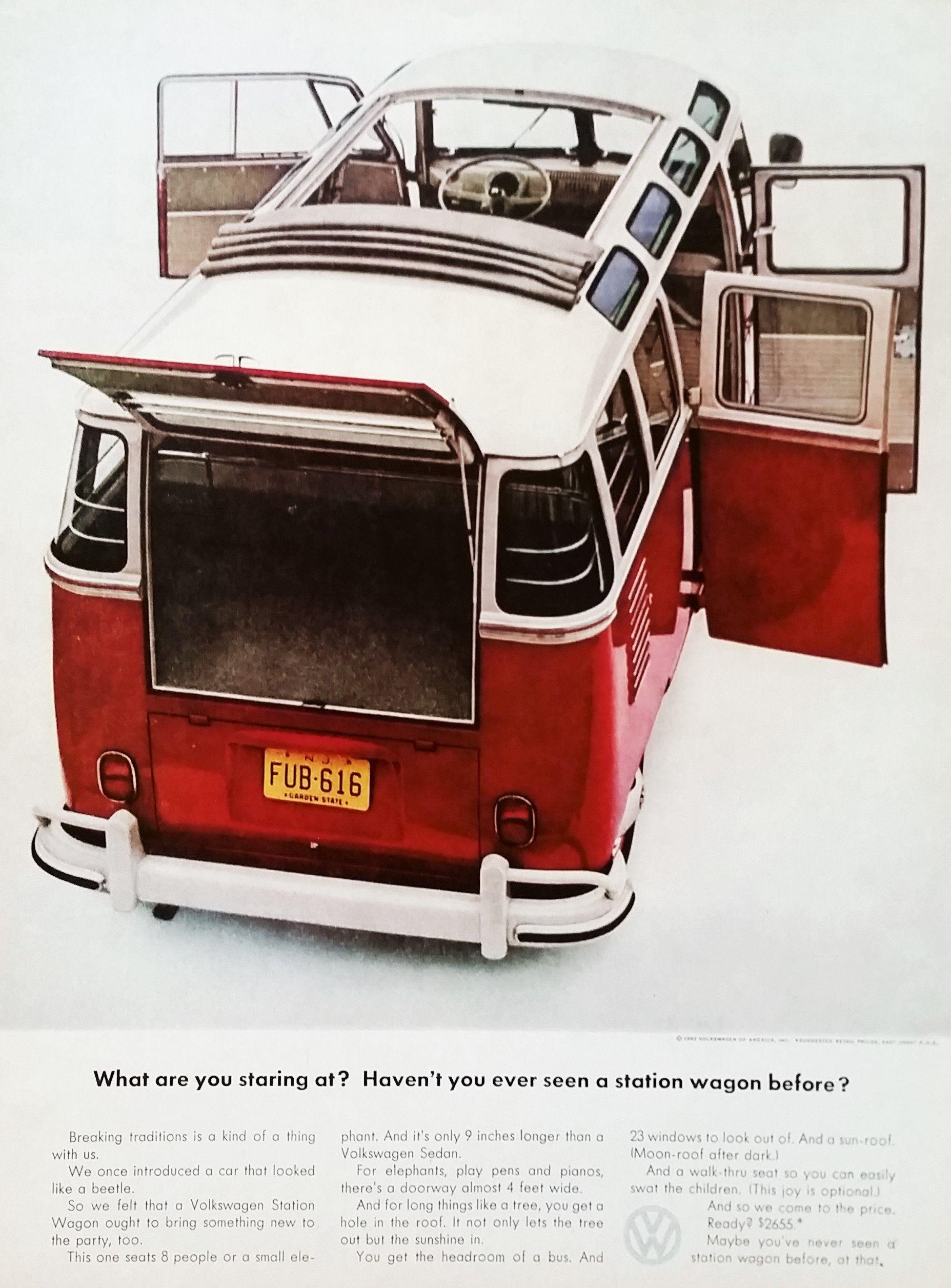 VW Volkswagen Station Wagon Micro Bus Barn Door 21-door | Etsy