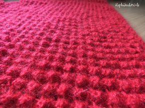 tricot point boule