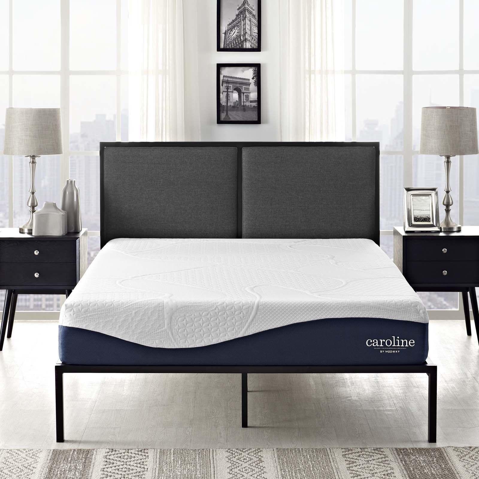 Caroline 10inch Memory Foam Mattress Foam mattress